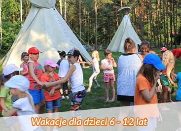 Letnie kolonie i obozy dla dzieci i młodzieży